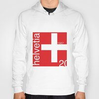 switzerland Hoodies featuring Switzerland stamp  by Little Parcels Shop