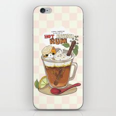 Hot buttered Rum iPhone & iPod Skin