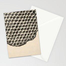 Honeycomb Frame Stationery Cards