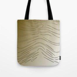 WILD SWEET gold design lines Tote Bag