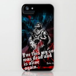 The Prodigal Son iPhone Case