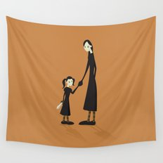 Mother and Child Wall Tapestry