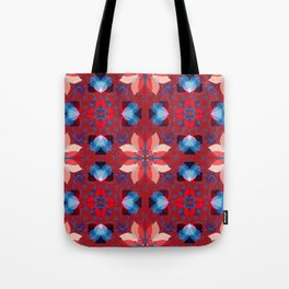 Abstract flower pattern 5h Tote Bag