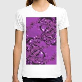 Shiny Purple Daisy Chain T-shirt
