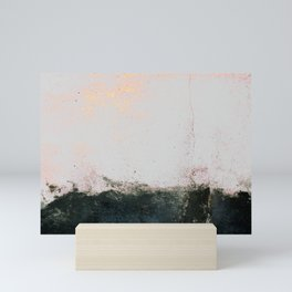 abstract smoke wall painting Mini Art Print