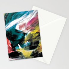 Abstract Artwork Colourful #3 Stationery Cards