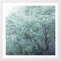 monet Art Prints featuring Monet Tree by Theo Beck Photography