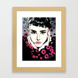 Laque Me Framed Art Print