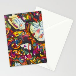 """I Am Large, I Contain Multitudes"" Stationery Cards"