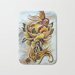 Monarch Peony Remix Bath Mat