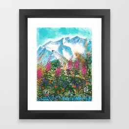 Alyeska Best of Both Framed Art Print