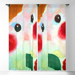 Theo van Doesburg Girl with Flowers Blackout Curtain