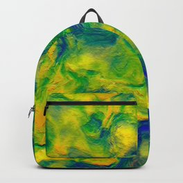 Watercolor Graphical Abstract Art Design Backpack
