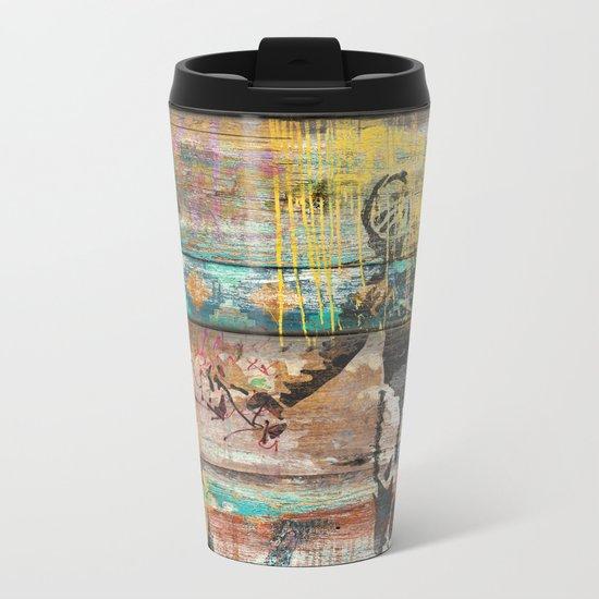 Art isn't a Crime (Molotov Cocktail) Metal Travel Mug