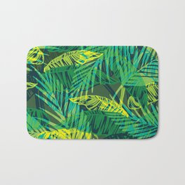Junglish leaves Bath Mat