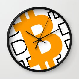 Bitcoin 16 Wall Clock