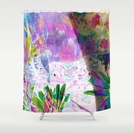Tiptoe Shower Curtain