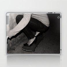 skateboarding girl Laptop & iPad Skin