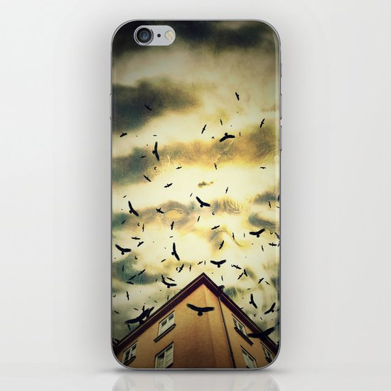 Somebody is Watching You iPhone Skin