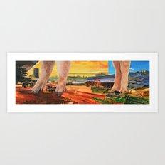 Pigs Feet Art Print