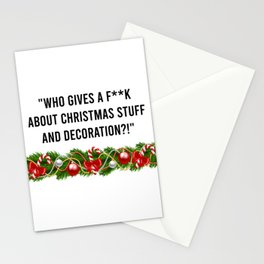 Melania Christmas Quote Stationery Cards