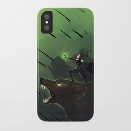 goddess of death iPhone Case