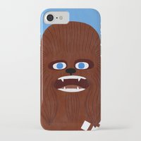 chewbacca iPhone & iPod Cases featuring Chewbacca by Jack Teagle