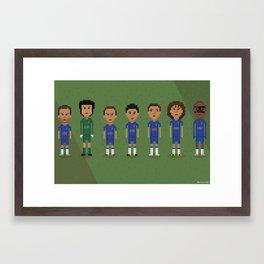 Chelsea FC 2013 Framed Art Print