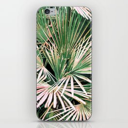 Palms #nature #painting iPhone Skin