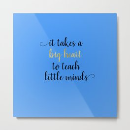Teacher Appreciation Week Gifts Metal Print