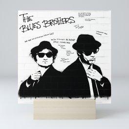 The Blues Brothers Mini Art Print