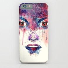 Um rosto aquarelável Slim Case iPhone 6s