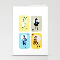 ghibli Stationery Cards featuring Ghibli Gijinkas by TEAM JUSTICE ink.
