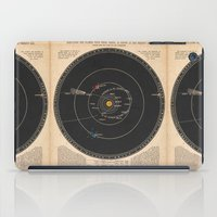solar system iPad Cases featuring Solar System by Le petit Archiviste