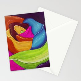 Floral Rainbow Stationery Cards