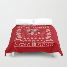 Ugly Sweater / Cuphead Duvet Cover