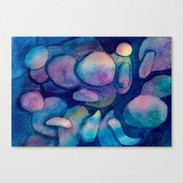 Colorful pebbles Canvas Print