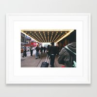 theatre Framed Art Prints featuring Theatre by RaviusKiedn