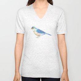Bluebird of Happiness Unisex V-Neck