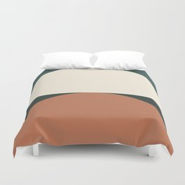 Abstract Geometric 01E Duvet Cover