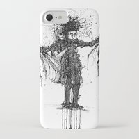 edward scissorhands iPhone & iPod Cases featuring Edward Scissorhands by V.Live