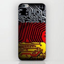 circuit board germany (Flag) iPhone Skin