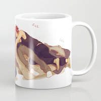 viria Mugs featuring free sleepovers by viria