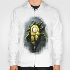 Abstract Robot  Artwork Hoody