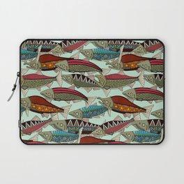 Alaskan salmon mint Laptop Sleeve
