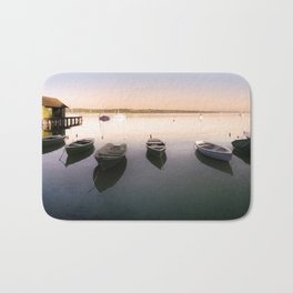 Ammersee Lake Landscape Bath Mat