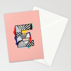E for …. Stationery Cards
