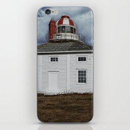 Lighthouse in Newfoundland, Canada iPhone Skin