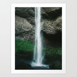 Oregon Waterfall Art Print