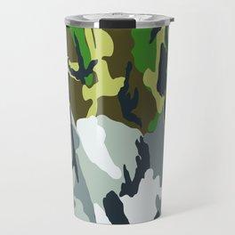 Urban Woodland Camo Travel Mug
